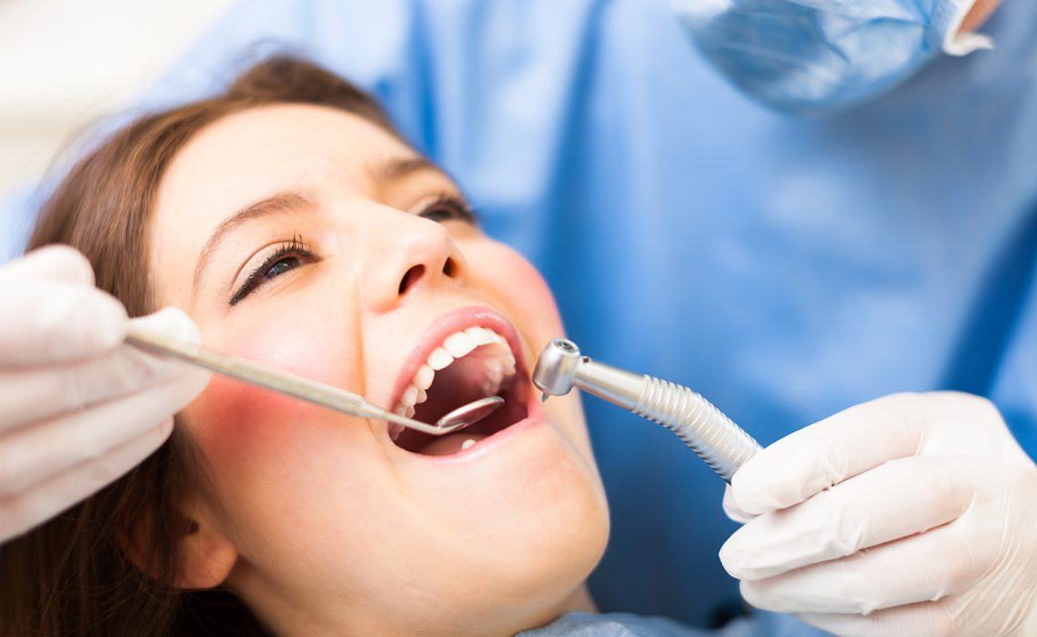 Dental treatment for restoring damaged teeth